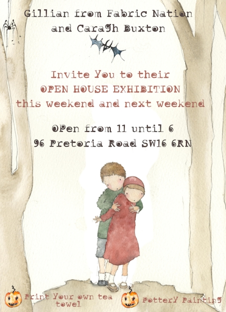 small flyer for open house