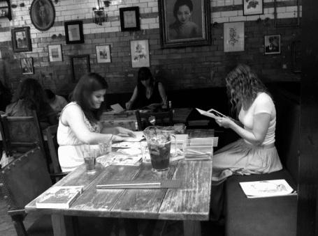 Artists Book Workshop June 2011 b&w