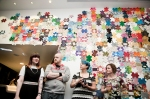 Save The Children/Craftivist Installation evening at The Peoples History Museum Manchester.